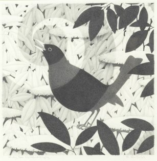 Study for Blackbird Singing