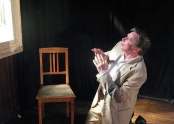 """Wolfgang Graczol in Franz Kafkas ,,Das Urteil"""". Foto: Taeter-Theater"""