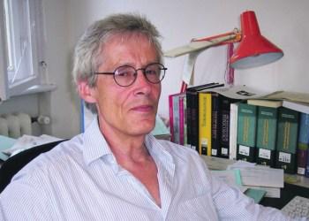 Hermann Dieter vom Arbeitskreis Deutsch als Wissenschaftssprache. Foto: Privat
