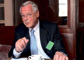 Theo Sommer, langjähriger Herausgeber der Zeit. Bild: Felix Hackenbruch