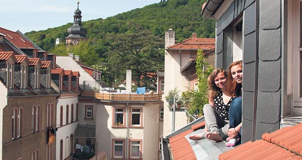 Das Collegium Academicum in der Plöck. Bilder: Jonas Peisker