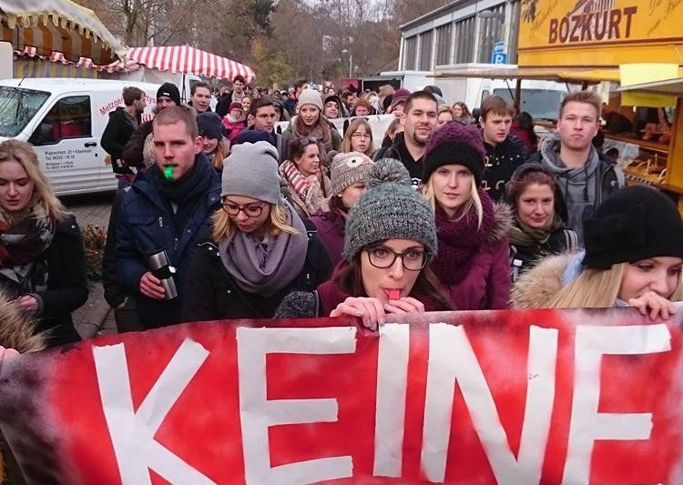 Proteste und Besetzungen: Landau besinnt sich auf alte studentische Tugenden. Foto: AStA Universität Koblenz-Landau.