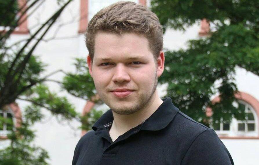 Maximilian Böck sitzt für den Ring christlichdemokratischer Studenten (RCDS) im Studierendenrat sowie im Senat, Foto: Privat