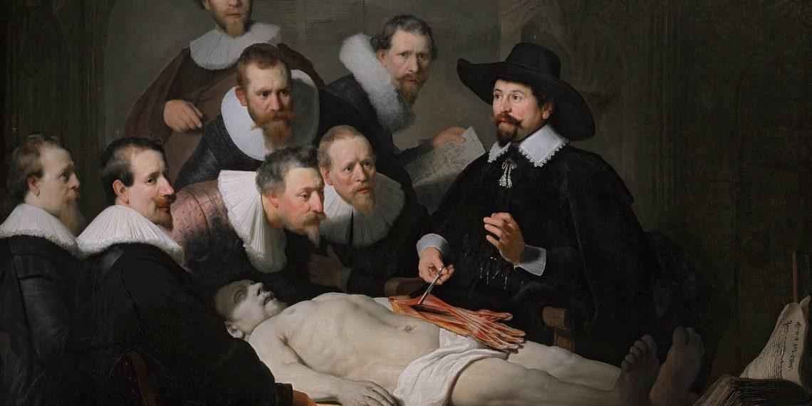 Rembrandt van Rijn: Die Anatomie des Dr. Tulip, 1632 (Bild: Gemeinfrei)