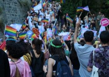 Türkische Studierende auf einer Pride Parade Foto: Ateş Alpar