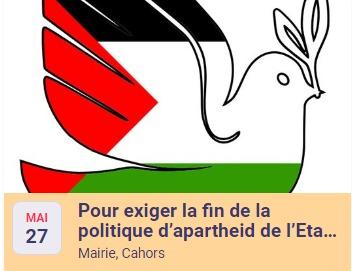 Agir pour une paix juste et durableentre Israéliens et Palestiniens.