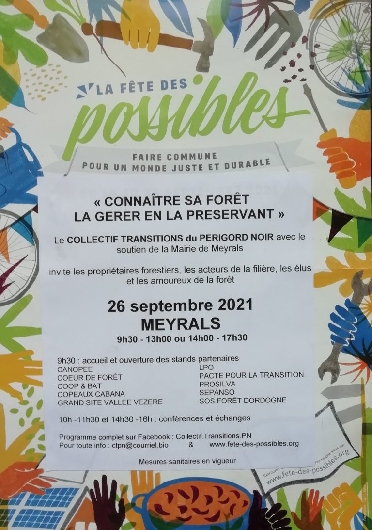 Fête des Possibles le 26 septembre 2021 à Meyrals