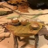 hickory slab table