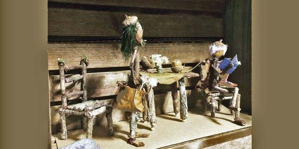 A Forest Folk Kitchen Scene
