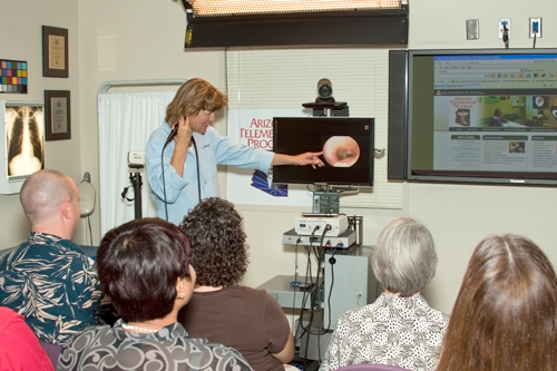video otoscope demonstration
