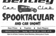 Bentley Car Show Spooktacular Scheduled for October 22