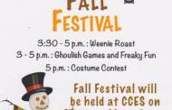 Strong City: Chase County Fall Festival scheduled for October 29
