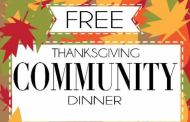 Anthony's 4th Annual Free Thanksgiving Dinner scheduled for Nov 27