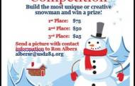 Cottonwood Falls Recreation Commission sponsoring a Snowman Competition