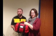 Hesston: District nurse receives special med kits from Harvey County Health Department