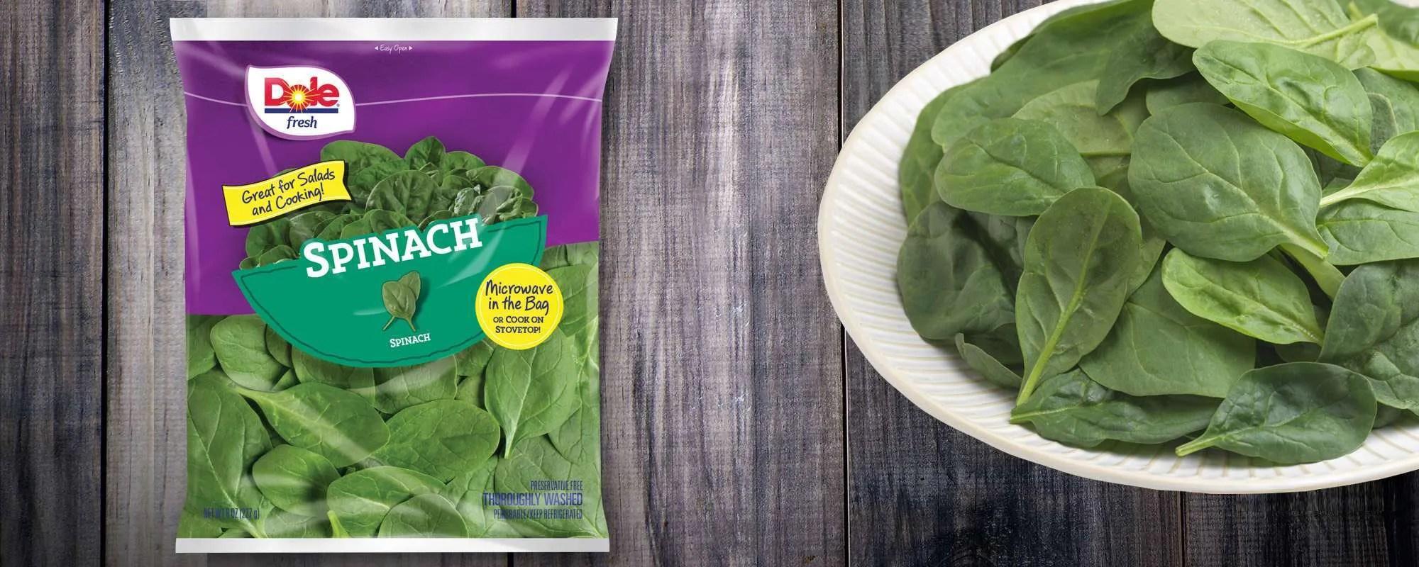 Dole Recalls Spinach Over Salmonella Concerns