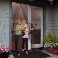 Inexpensive, Intelligent Instant Screen Door Solution