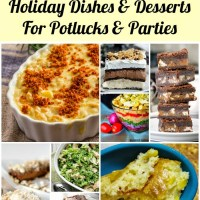 25 of the Best Holiday Recipe Ideas for Potlucks and Parties