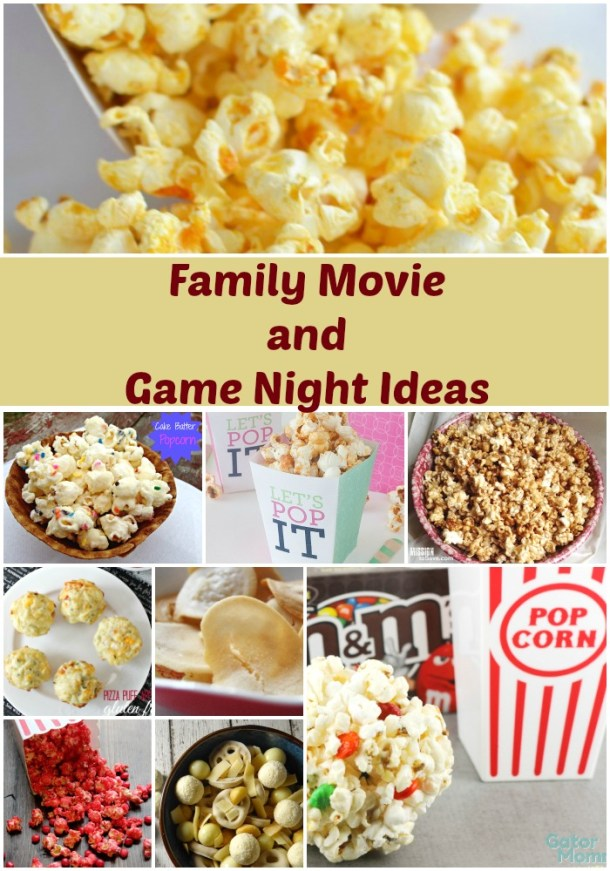 31 Fabulous Family Movie and Game Night Ideas