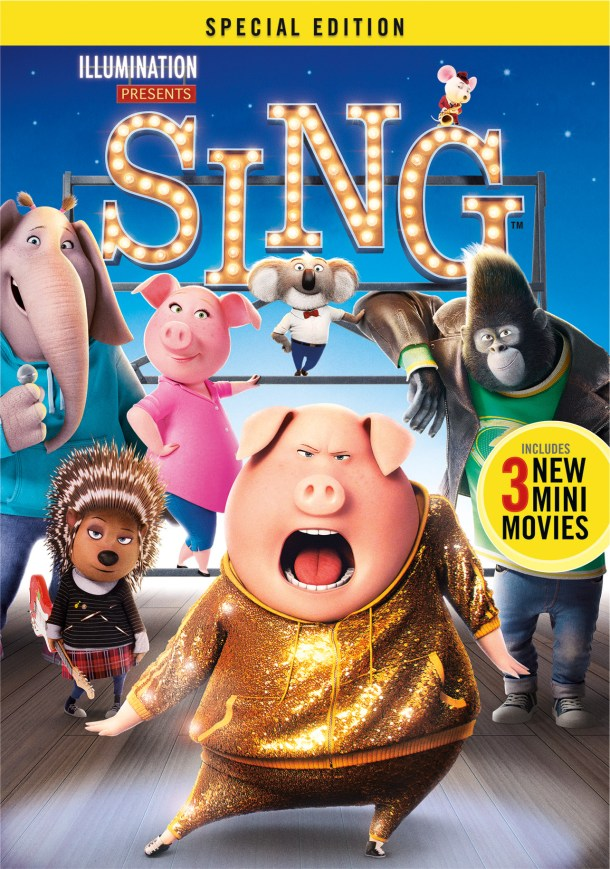 SING Special Edition arrives in March! #SingMovie #SingSquad