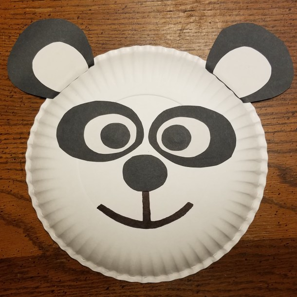 BORN IN CHINA Paper Plate Craft