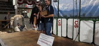 Pora defends title at North American Sheep Shearing Championships