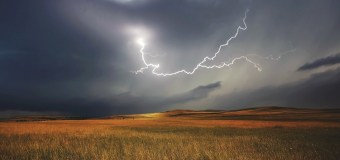 Lightning and crops: a good combination