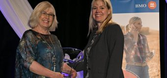 Ammeter honoured with BMO Celebrating Women in Agriculture award