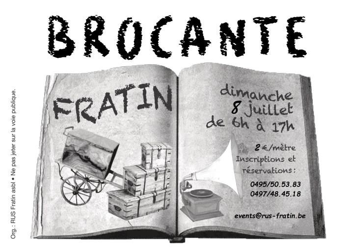 Brocante Fratin'Air 2018
