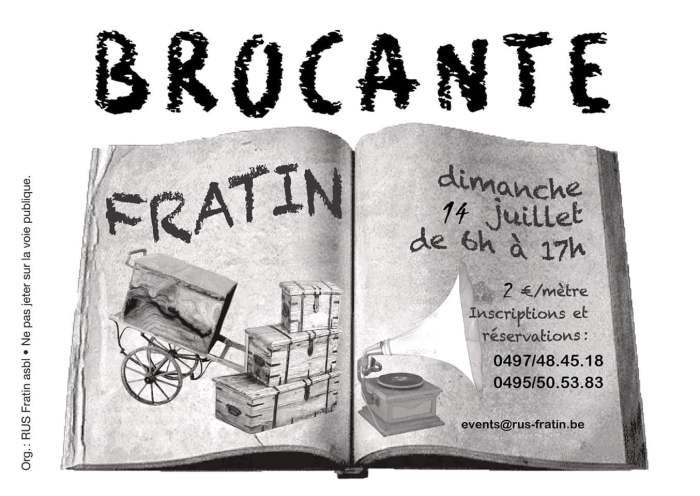 Brocante Fratin'Air 2019