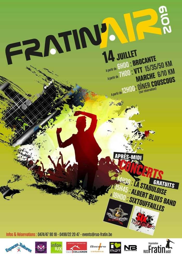 Fratin'Air 2019 : 14 juillet