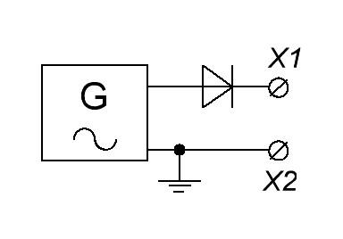 Diode în circuitul curent alternativ