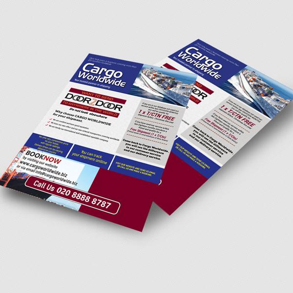 A4 leaflet printing - A4 sheet printing at Rushprint