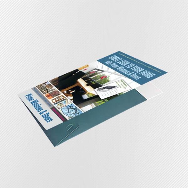 A5 Interlocking Presentation Folders Printing - Presentation Folder Printing UK