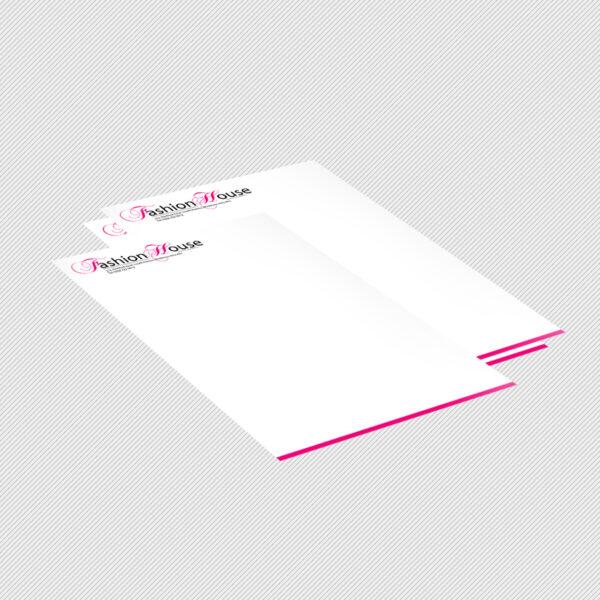 Letterhead Printing - Single or Double Sided Letterhead Printing UK
