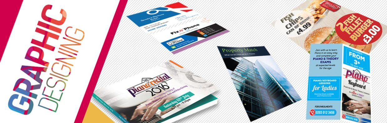 graphic designing from rushprint   leaflet, business cards, banner, poster