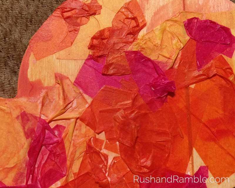 Tissue Paper Rabbit | Rush & Ramble