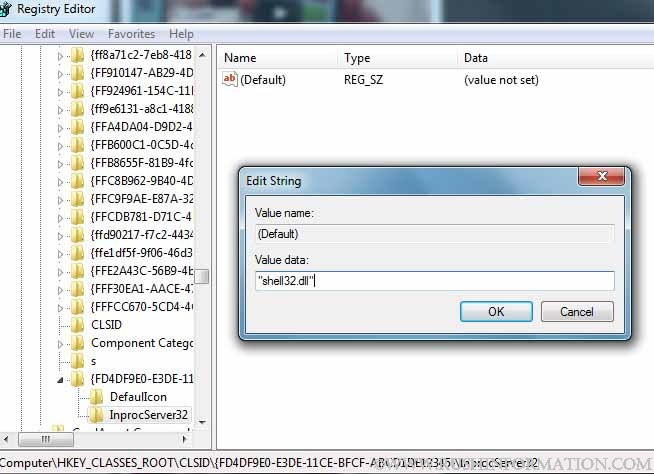 How to Create System Folder in Windows 7