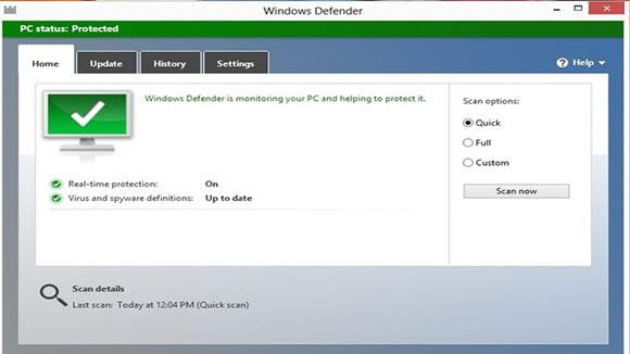 How to Scan Files With Windows Defender in Windows 8