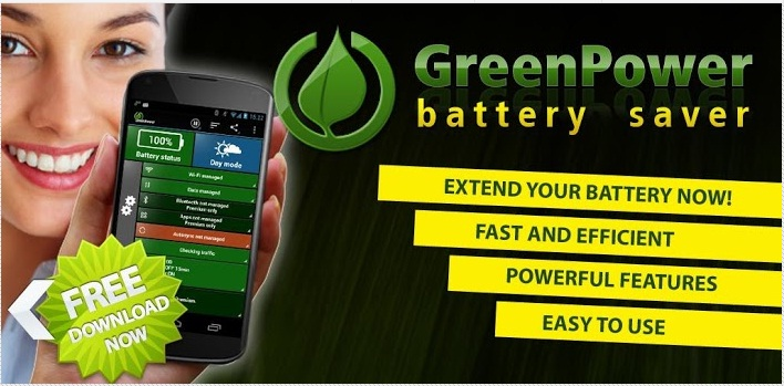 Best Free Android Apps to Save Battery Life - Green Power App
