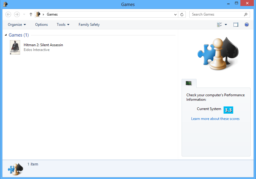How to Open Games Explorer in Windows 8