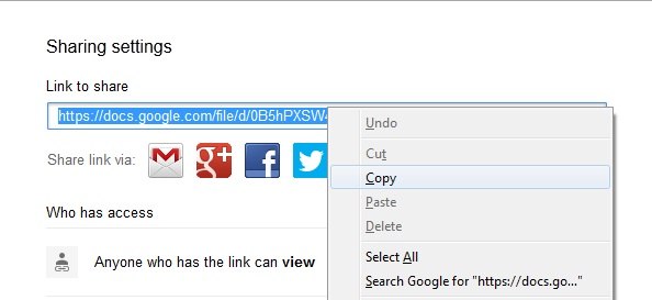 How to Share Google Drive Link - 5