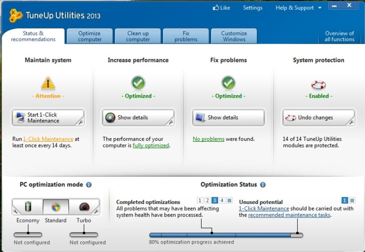How to Increase Laptop's Performance - Tuneup Utilities