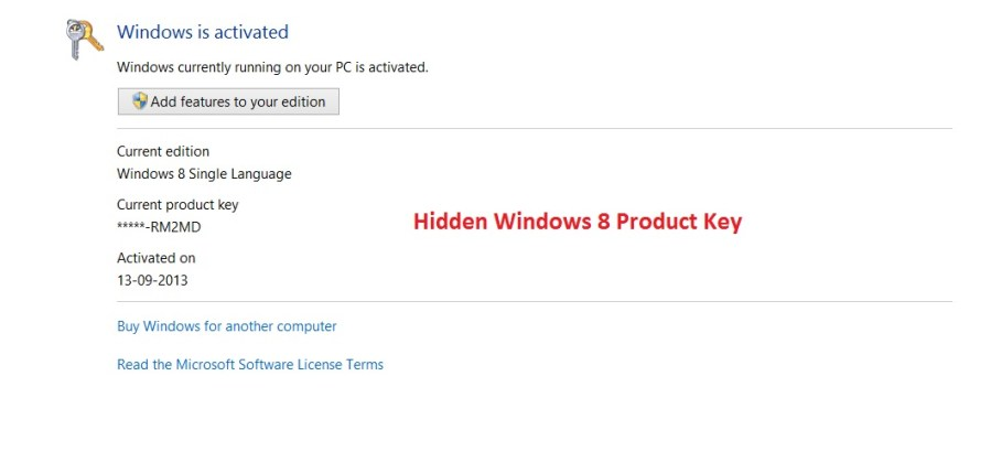 How to Find Windows 8 Product Key