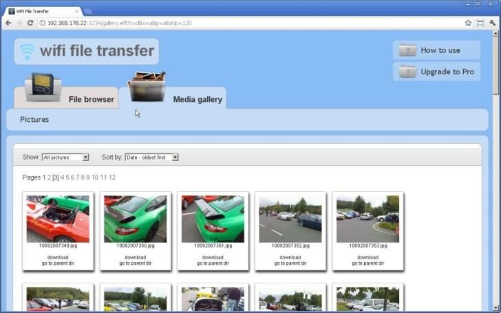 WiFi File transfer - Step 3