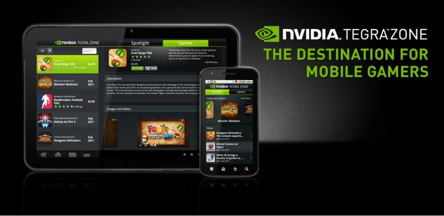 nVidia TegraZone App available for non-tegra devices