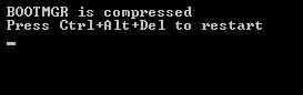 BOOTMGR is Compressed Error Windows 7/8/XP/Vista – FIXED