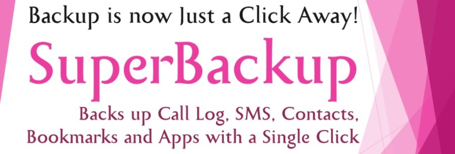 How to Backup your Android Phone Contacts and SMS - Superbackup