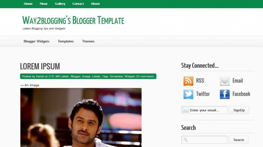 Best FREE Responsive Templates for Blogger - Way2Blogging
