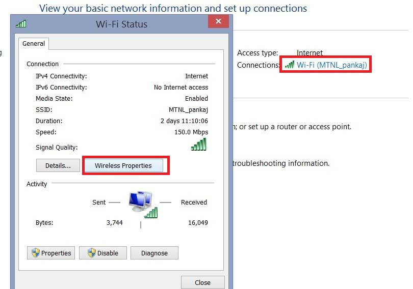How to find WiFi Password Saved on your PC - Step 1